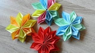 download video origami tulpen diy blumen falten. Black Bedroom Furniture Sets. Home Design Ideas