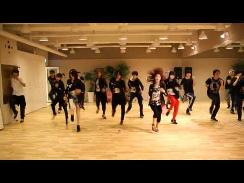 [HD] T-ara - Cry Cry mirrored dance practice
