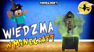 STRASZNE WIEDŹMY W MINECRAFT?! - Elemental Witches Mod!