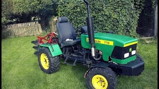 "getlinkyoutube.com-Budowa traktorka Sam VW Golf 1.6d ""John Deere"""