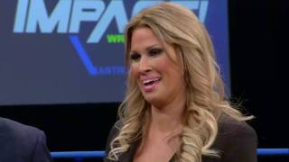 Karen Jarrett Interrupted by EC3 | IMPACT March 23rd, 2017