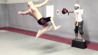getlinkyoutube.com-Vin Diesel and Tony Jaa Combat Training Muay Thai FF7