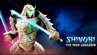 getlinkyoutube.com-Real Steel SHINOBI VS ALL ROBOTS Series of fights NEW ROBOT (Живая Сталь)