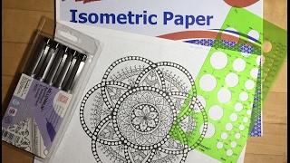 getlinkyoutube.com-My New Graph Paper & Speed Draw