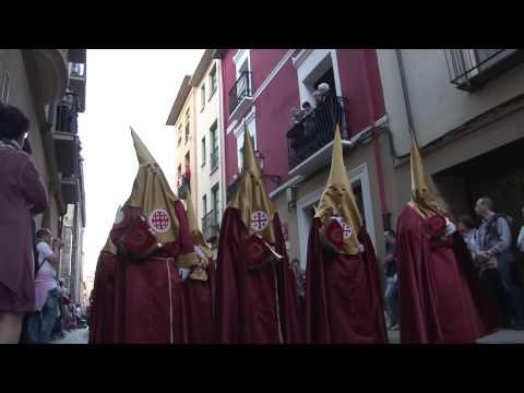 Viernes Santo 2014. Cofradía de la Flagelación de Jesús de Logroño