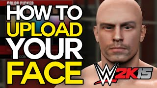getlinkyoutube.com-WWE 2K15 - How To Create Yourself! (Import Your Face in WWE 2K15 Tutorial)