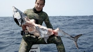 Wait til' You See What Happens To This Diver's Monster Mackerel!