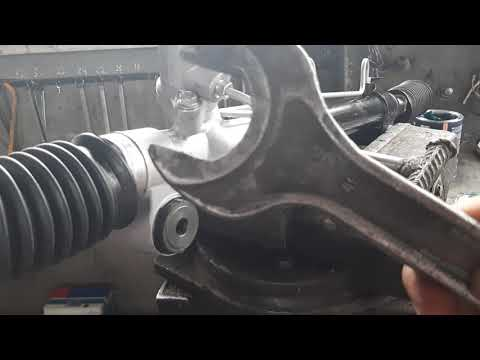 Как правильно смазывать рулевой рейки Toyota Camry 35