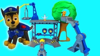 getlinkyoutube.com-Paw Patrol Rescue Training Center with Chase Nickelodeon Marshal Rocky Rubble Ryder Zuma