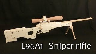 L96A1 Sniper rifle [rubber band gun]