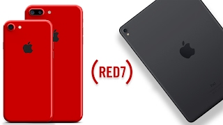 RED iPhone 7 Color & New iPad Pro 2's Coming March!