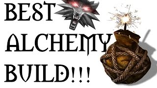 getlinkyoutube.com-WITCHER 3 - BEST ALCHEMY BUILD (Bombs, Potions and Oils)
