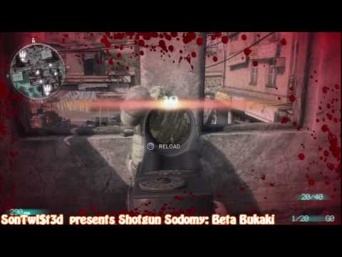 Shotgun Sodomy: Medal of Honor Beta Bukaki