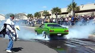 getlinkyoutube.com-1973 Dodge Dart Sport 340 Burnout
