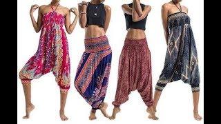 getlinkyoutube.com-How to make harem pants with pockets