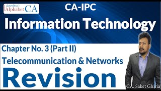 Chapter 3 (Part II) Information Technology Revision