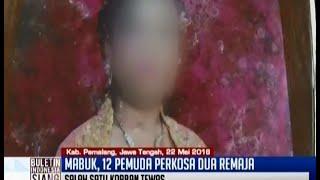 Mabuk, 12 pemuda perkosa dua remaja di Pemalang - BIS 23/05
