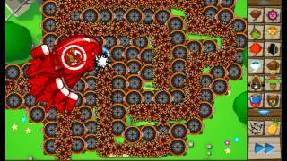 getlinkyoutube.com-Bloons Tower Defense 5-Spike Factory VS. ZOMG
