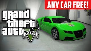 getlinkyoutube.com-GTA 5 Online: How To Buy ANY Car For FREE! Free Rare Cars Glitch (GTA V)