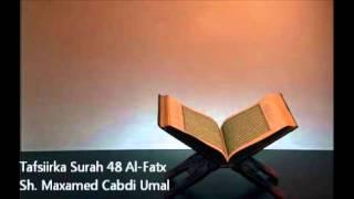 getlinkyoutube.com-Tafsiirka Surah 48 Al-Fatx - Sh. Maxamed Cabdi Umal