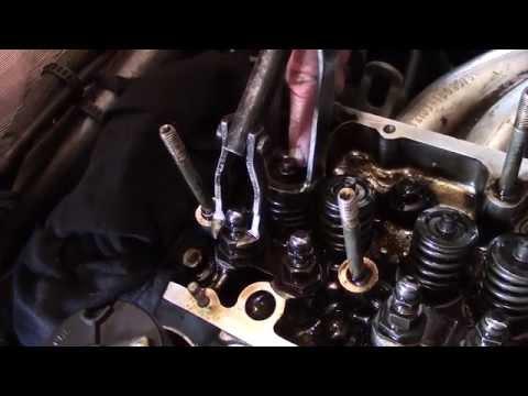 Lada Nova Замена сальников клапанов (маслосъёмных колпачков)