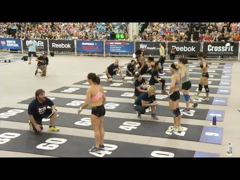 CrossFit - North Central Regional Live Footage: Women's Event