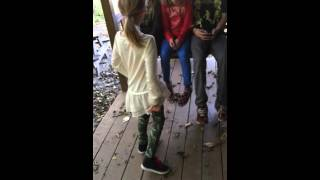 getlinkyoutube.com-Little girl farts on dad's leg