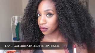 getlinkyoutube.com-ColourPop UltraMatte Liquid Lipstick Review and Swatches (WOC friendly) | #thepaintedlipsproject