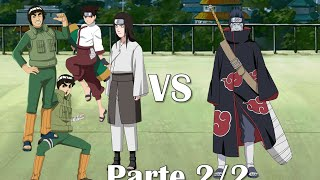 getlinkyoutube.com-Equipo Gai vs Kisame Hoshigaki [Full Fight] Sub Español [Parte 2/2]