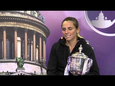 Roberta Vinci  St. Petersburg Ladies Trophy 14.02.16