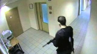 CCTV of Moscow shooting: Jilted man kills six colleagues in gun rampage