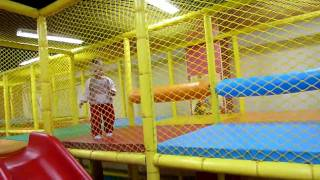 getlinkyoutube.com-Indoor playground  with Barbara Dawn part 2