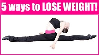 How To: Lose Weight QUICKLY & Get A Flexible Back! 脚痩せ 効果絶大!Ballet Fitness