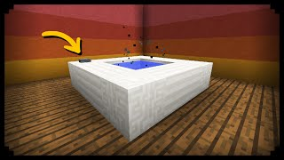 getlinkyoutube.com-✔ Minecraft: How to make a Working Hot Tub