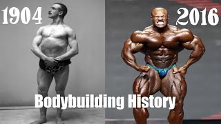 From Past to Present Bodybuilding