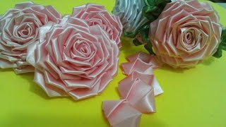 Flor de tecido - TUTORIAL da ROSA LINDAAA...todos os detalhes, montagem completa!!!Passo a Passo!!^^