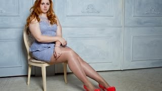 getlinkyoutube.com-Russian plus size model curvy Katalina Gorskikh (14.01.2013)
