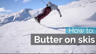 getlinkyoutube.com-HOW TO BUTTER ON SKIS | NOSE BUTTER