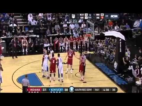 1 Kentucky vs 4 Indiana | 3-23-2012 | NCAA Tournament Sweet Sixteen | 1st Half Highlights | HD |