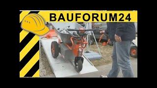 getlinkyoutube.com-Temove TeMax Mini Dumper - Elektrische Schubkarre - Walkaround - NordBau 2011 - Bauforum24