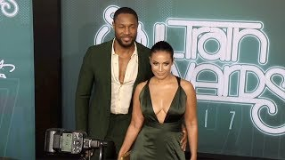 Tank and Zena Foster 2017 Soul Train Awards Arrivals