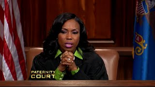 "getlinkyoutube.com-""Paternity Court"" Judge Breaks Down - Cries During Emotional Case"