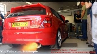 getlinkyoutube.com-Honda Civic EP3 Type R Best Exhaust Sound Compilation!! *HD*