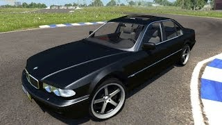 getlinkyoutube.com-BeamNG.Drive Mod : BMW 740i E38 (crash test)