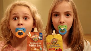 getlinkyoutube.com-BABY Food Challenge (Ft. Ruby Rose Turner)