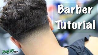 getlinkyoutube.com-Barber Tutorial! Messy Top Taper | Mens Hairstyle