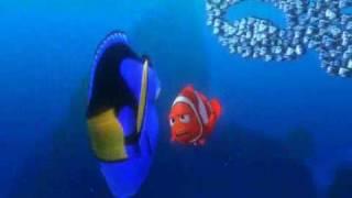 getlinkyoutube.com-Finding Nemo School of Fish