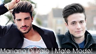 getlinkyoutube.com-Male Model Hair 2014 | Mariano Di Vaio Hair Tutorial | Men's styling Inspitration