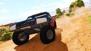 AWESOME TROPHY TRUCK! - BeamNG Drive RG TrophyT Car Mod