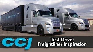 getlinkyoutube.com-CCJ test drives Freightliner's Inspiration autonomous truck